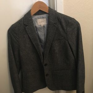LOFT Blazer Wool Knit